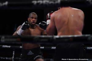 Daniel Dubois KOs Bogdan Dinu; Tommy Fury beats Jordan Grant