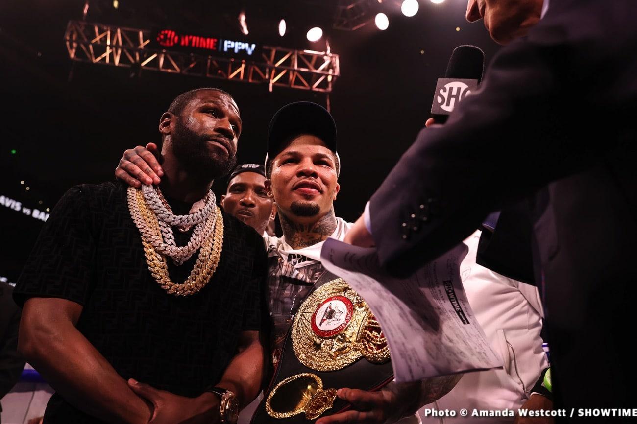Floyd Mayweather Jr, Gervonta Davis - Boxing News