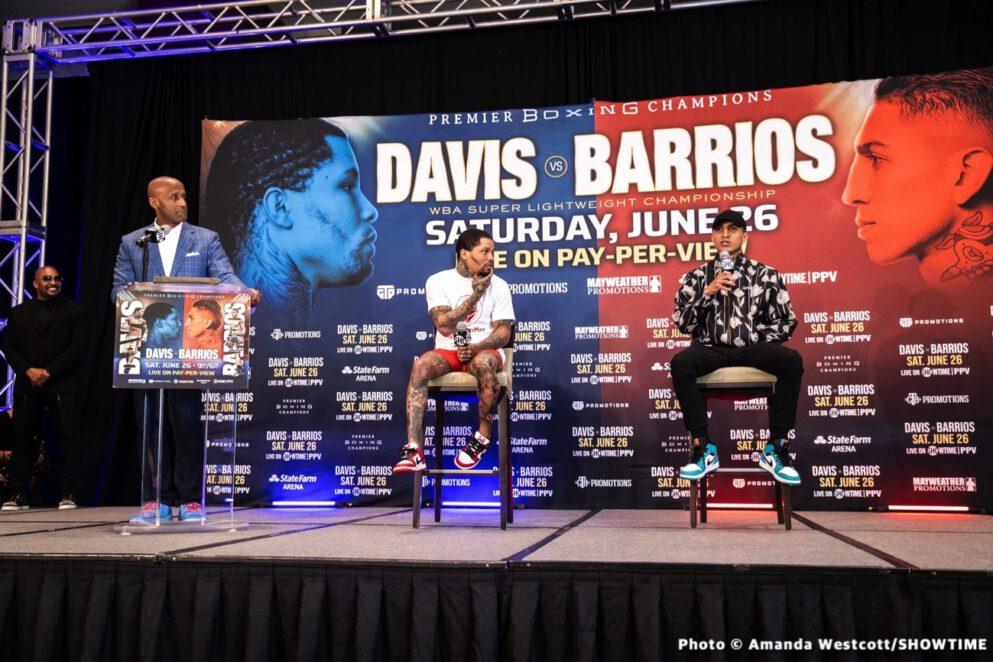Batyr Akhmedov, Carlos Adames, Erickson Lubin, Gervonta Davis, Jeison Rosario, Mario Barrios - Press Room