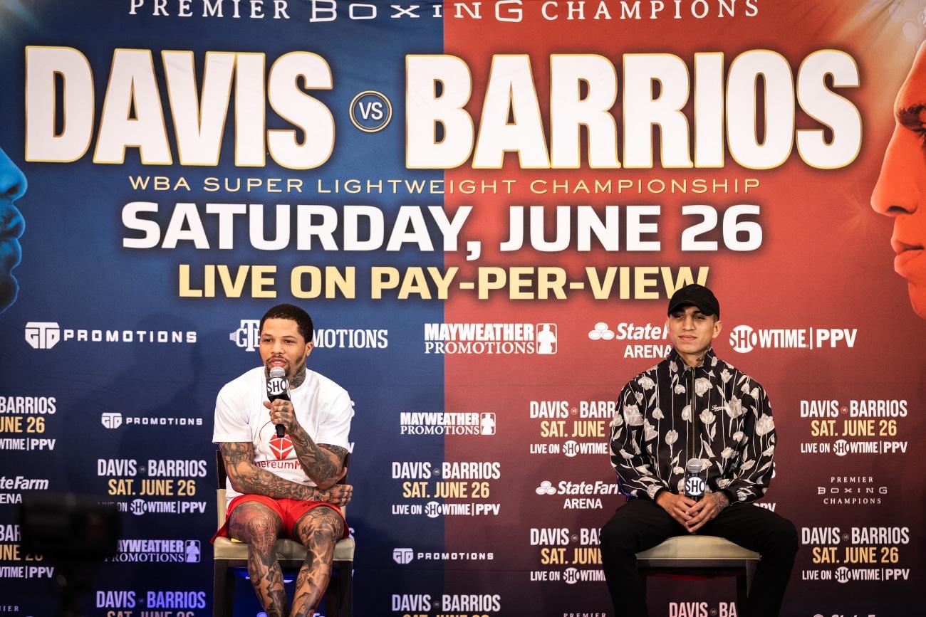Gervonta Davis, Mario Barrios, Vasiliy Lomachenko - Boxing News