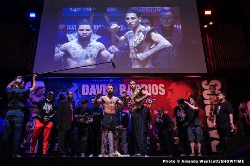 Erickson Lubin, Gervonta Davis, Jeison Rosario, Mario Barrios - Boxing News