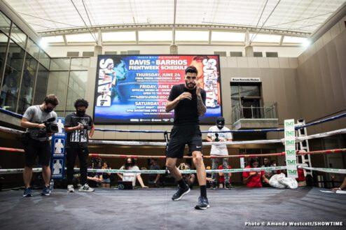 Alexis Salazar, Batyr Akhmedov, Carlos Adames, Erickson Lubin, Gervonta Davis, Jeison Rosario, Mario Barrios - Boxing News