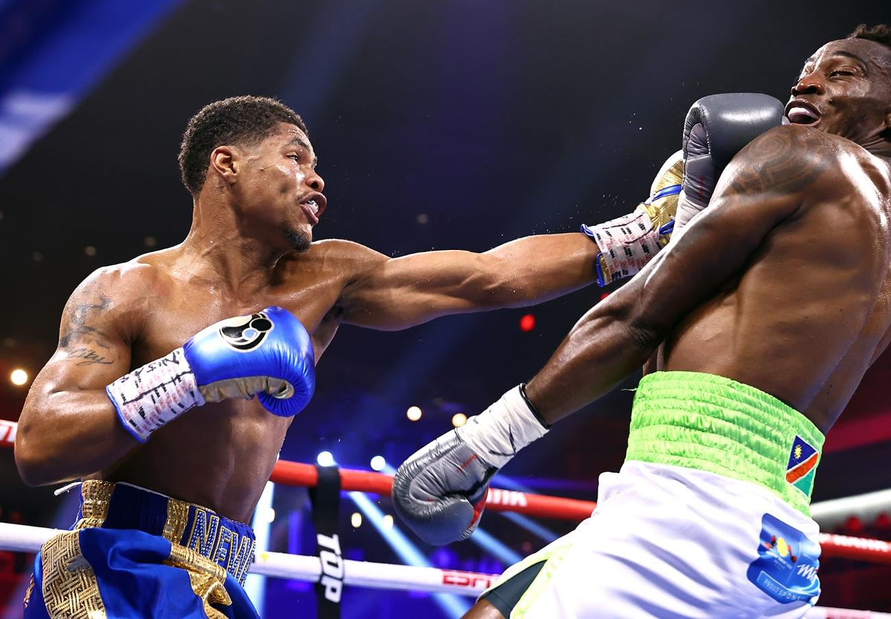 Jamel Herring, Shakur Stevenson - Boxing News