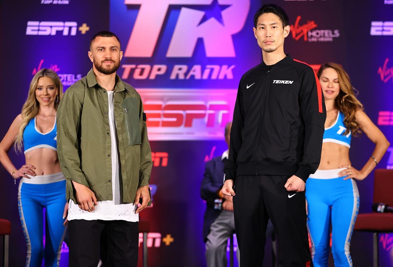 Janibek Alimkhanuly, Masayoshi Nakatani, Rob Brant, Vasiliy Lomachenko - Boxing News