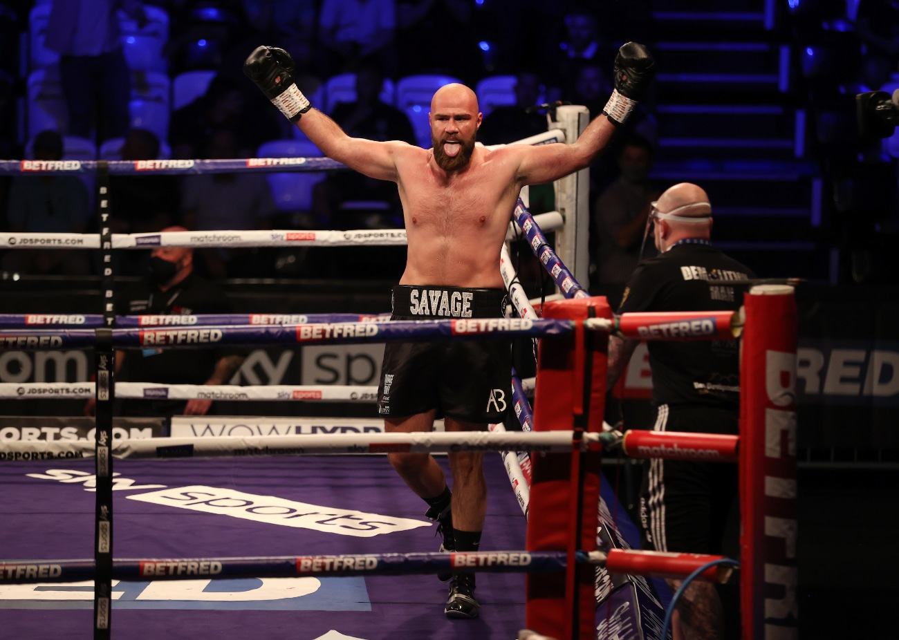 Alen Babic, Damien Chambers - Boxing News