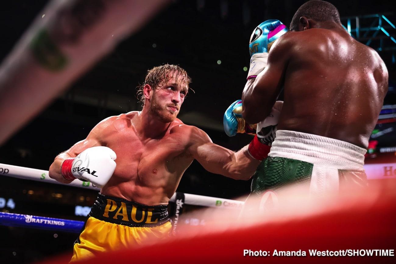 Floyd Mayweather Jr, Logan Paul, Ricky Hatton - Boxing News