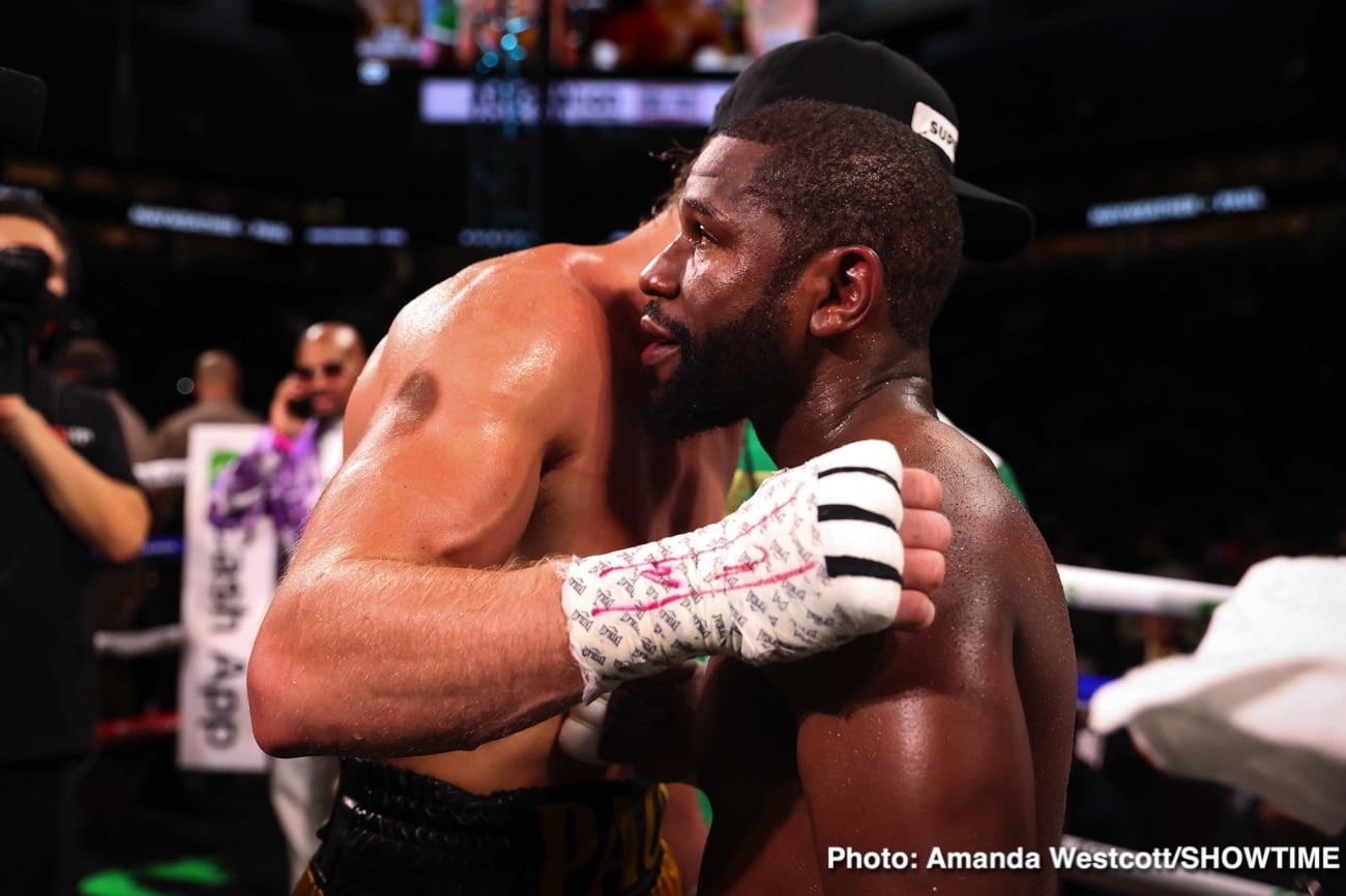 Floyd Mayweather Jr, Logan Paul, Mike Tyson - Boxing News