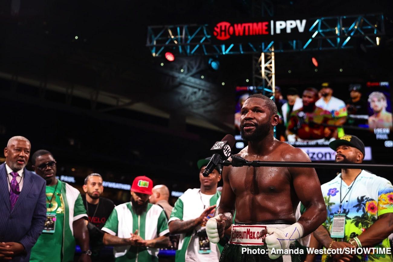 Floyd Mayweather Jr, Oscar De La Hoya - Boxing News