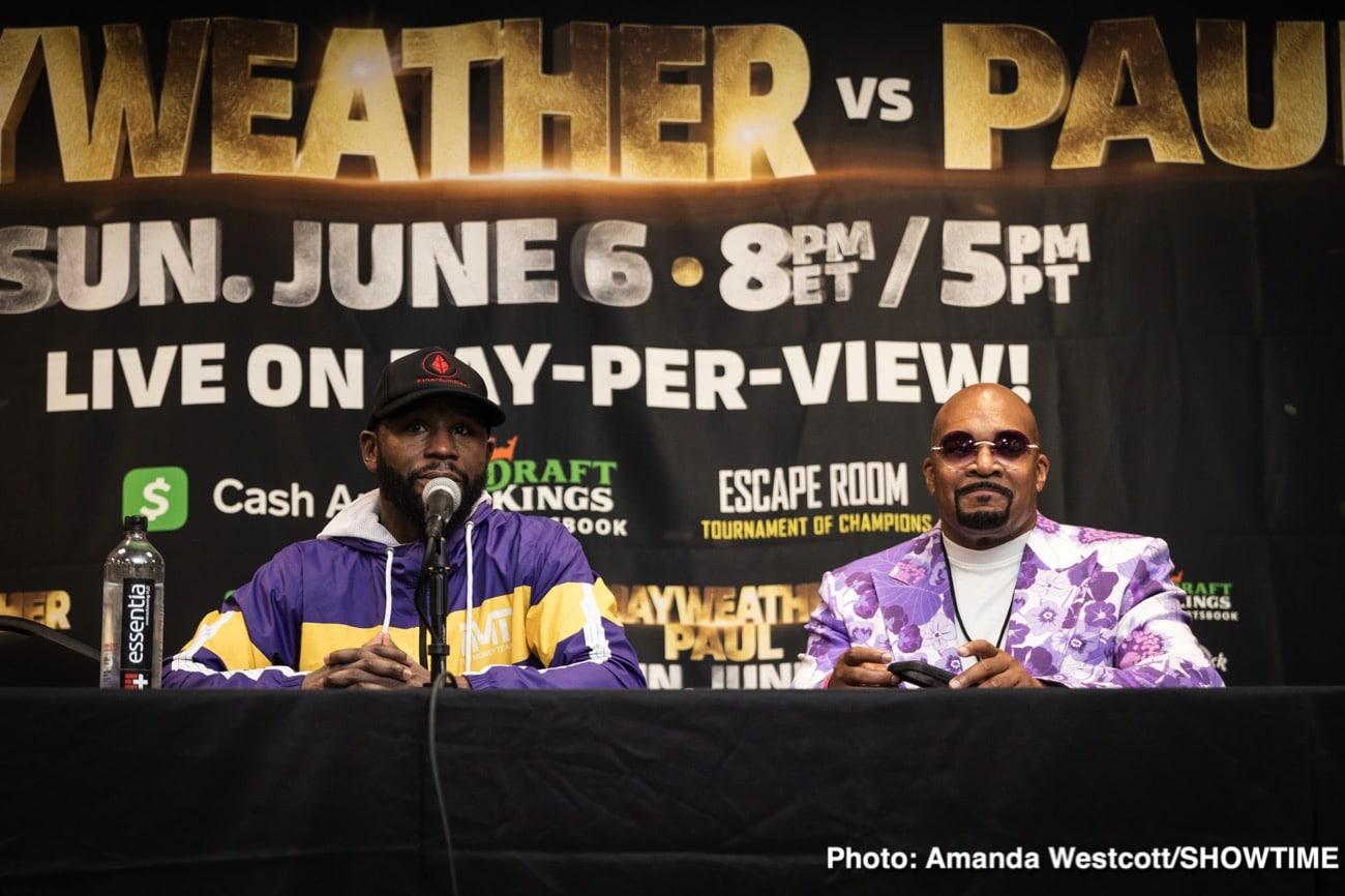 Canelo Alvarez, Floyd Mayweather Jr, Jake Paul, Logan Paul, Ryan Garcia - Boxing News