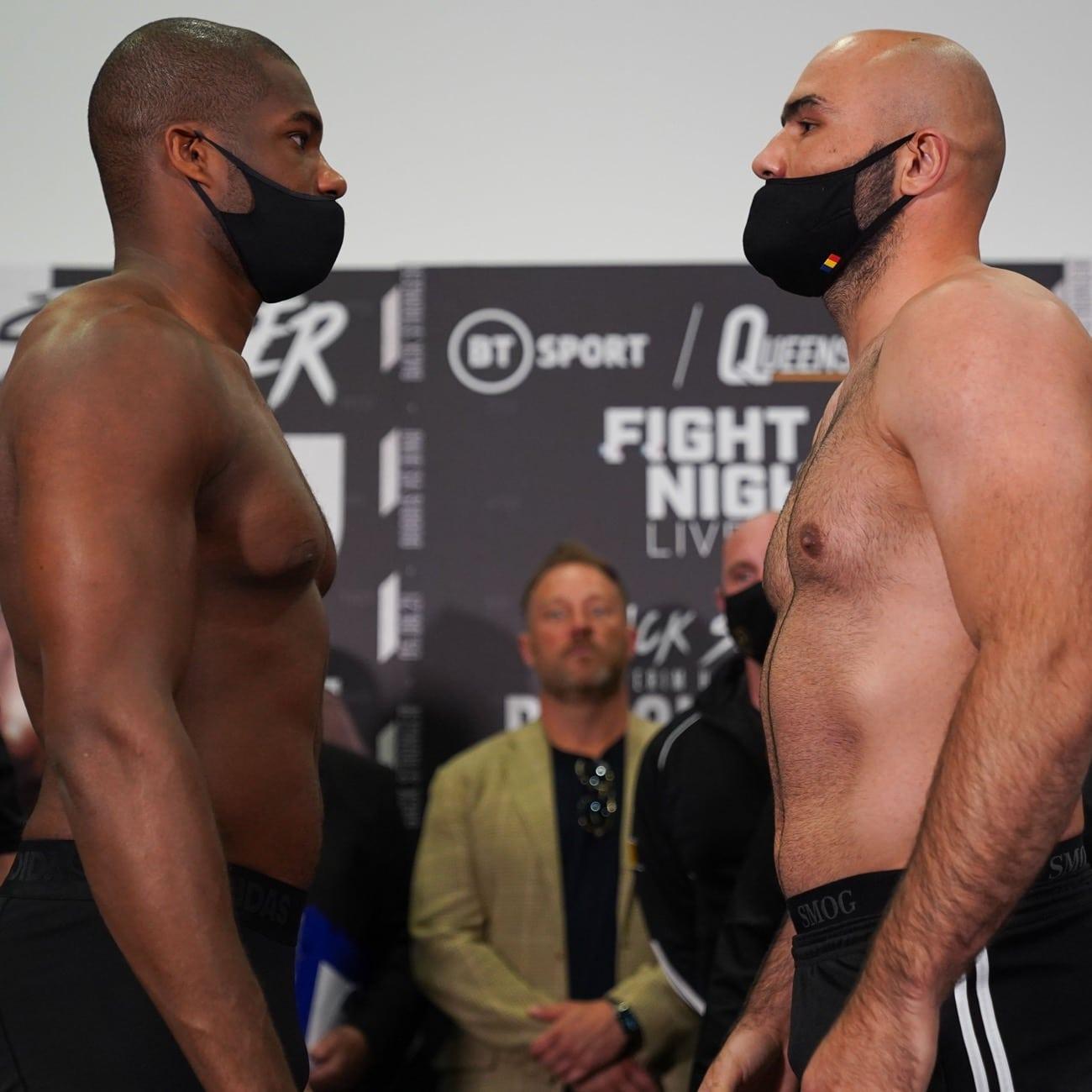 Daniel Dubois, Derek Chisora - Boxing News