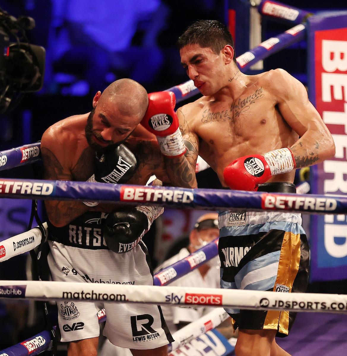 Jeremias Ponce, Lewis Ritson - Boxing News