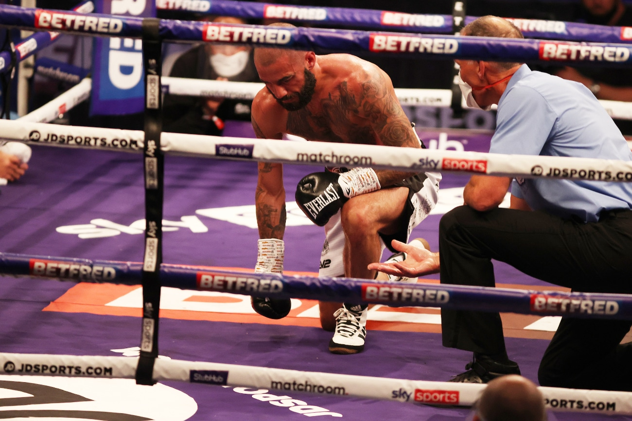 Jeremias Ponce, Lewis Ritson - Boxing Results