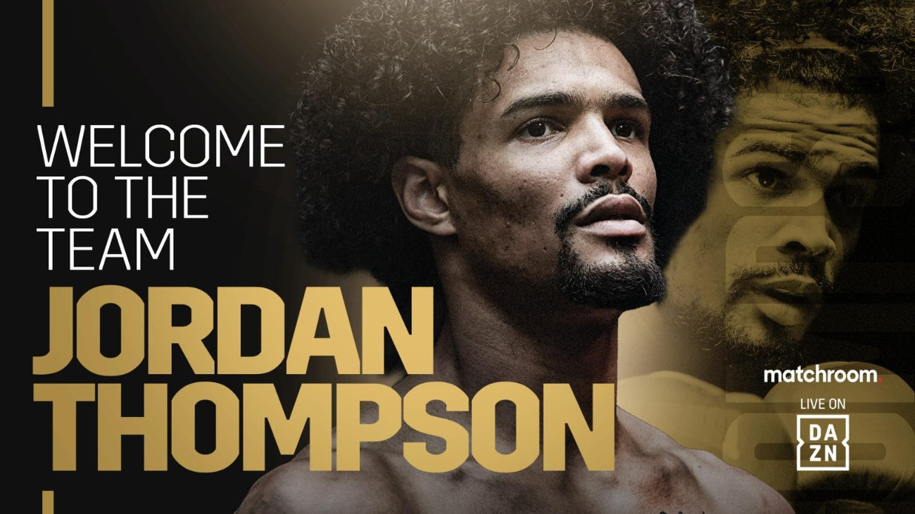 Jordan Thompson - Press Room
