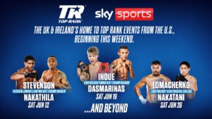 Sky Sports To Deliver More Boxing Than Ever Before As Part Of A New Chapter For The Sport