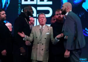 Tyson Fury battles Deontay Wilder on July 24th on pay-per-view
