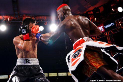 Chris Colbert, Tugstsogt Nyambayar - Boxing Results
