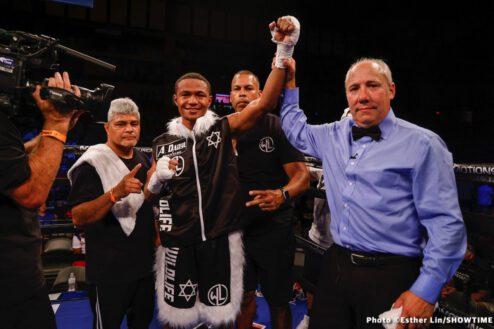 Isaiah Steen, Kalvin Henderson - Boxing News