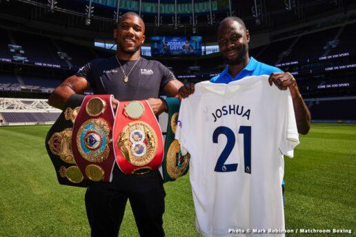 Alexander Usyk, Anthony Joshua - British Boxing