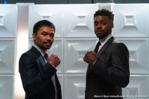 Manny Pacquiao vs Errol Spence Jr. What Would A Win Or A Loss Do For Their Legacies?