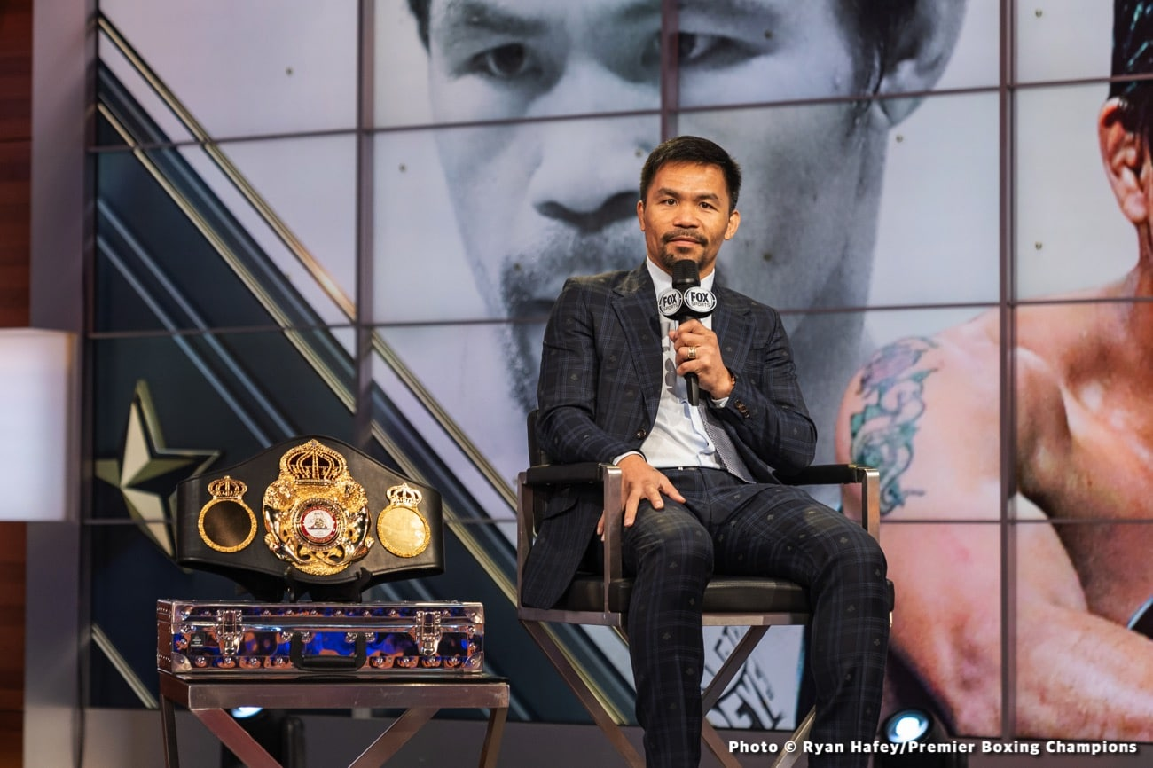 Errol Spence Jr., Manny Pacquiao, Ronnie Shields - Boxing News