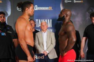 Weights: Joe Joyce 268.14 vs. Carlos Takam 248.8