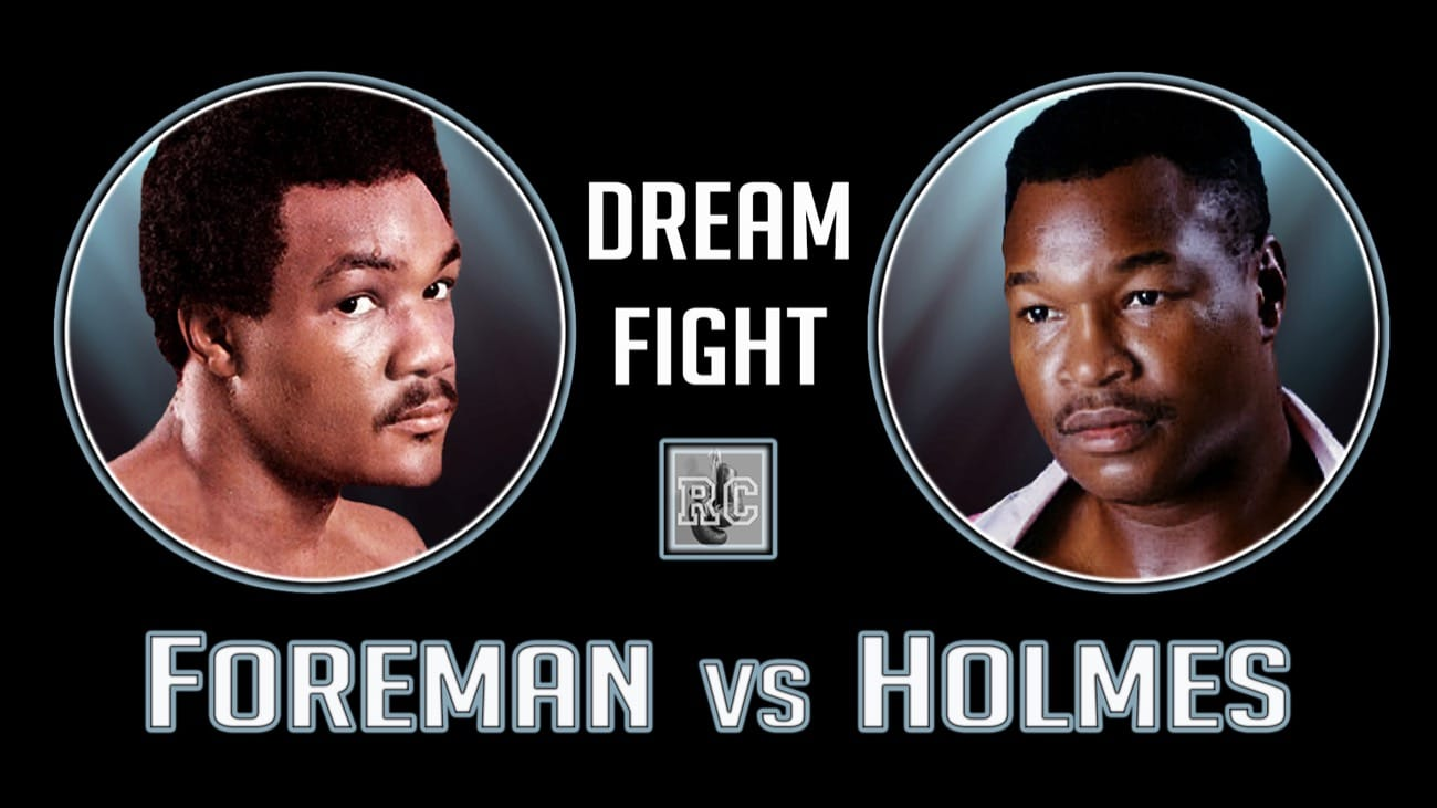 George Foreman, Larry Holmes - Boxing History