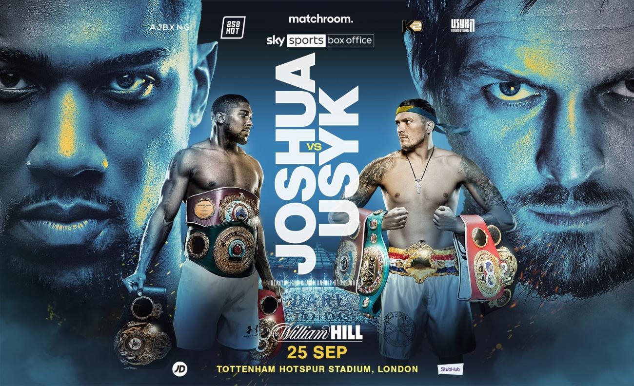 Alexander Usyk, Anthony Joshua, Joe Joyce - Boxing News