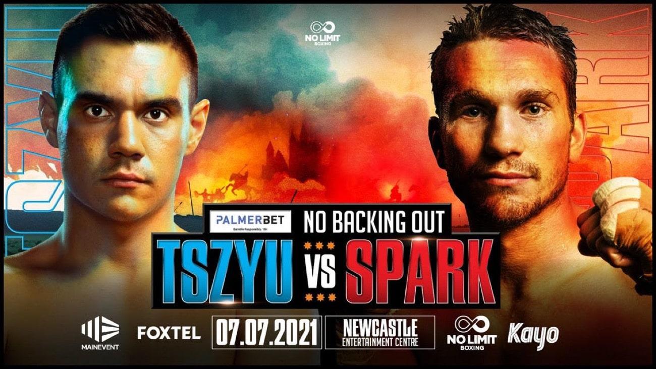 Steve Spark, Tim Tszyu - Boxing News
