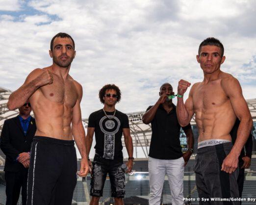 Gilberto Ramirez, Javier Fortuna, Joseph Diaz, Sullivan Barrera - Boxing News