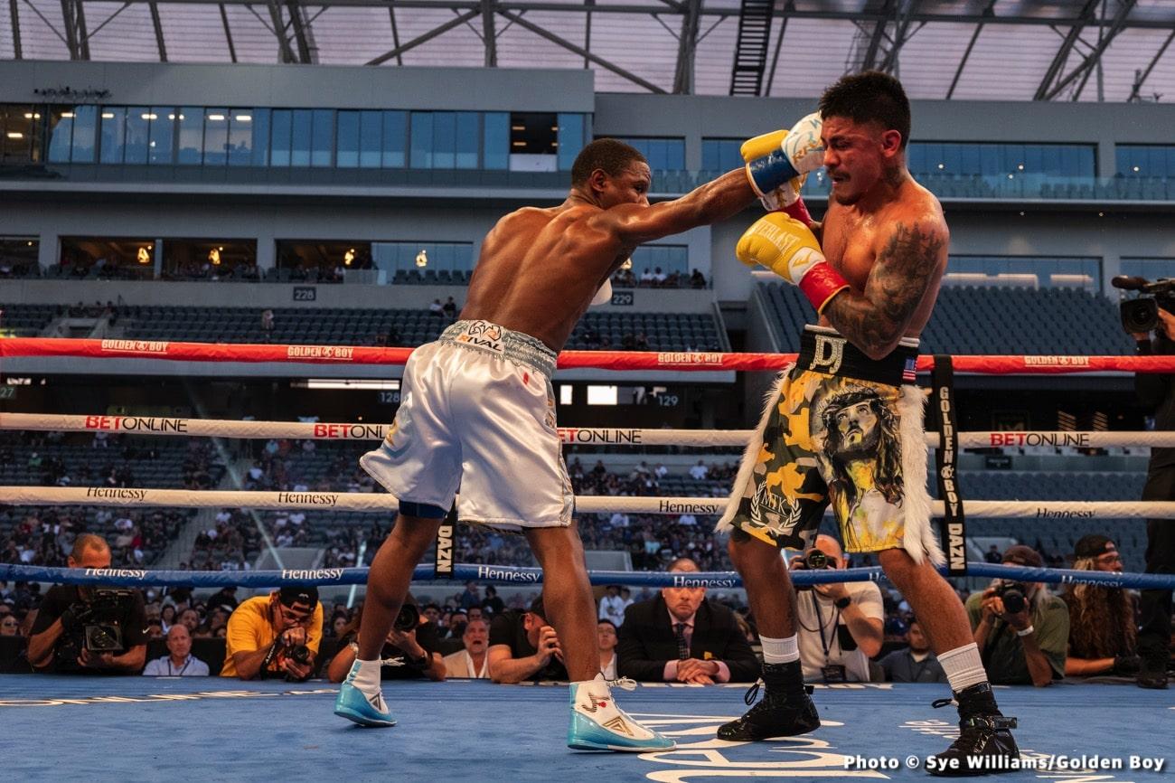 Joseph Diaz Jr, Ryan Garcia - Boxing News