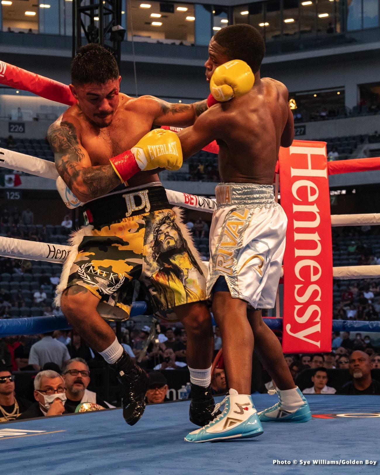 """Devin Haney, Javier Fortuna, Joseph """"JoJo"""" Diaz, Ryan Garcia - Boxing News"""