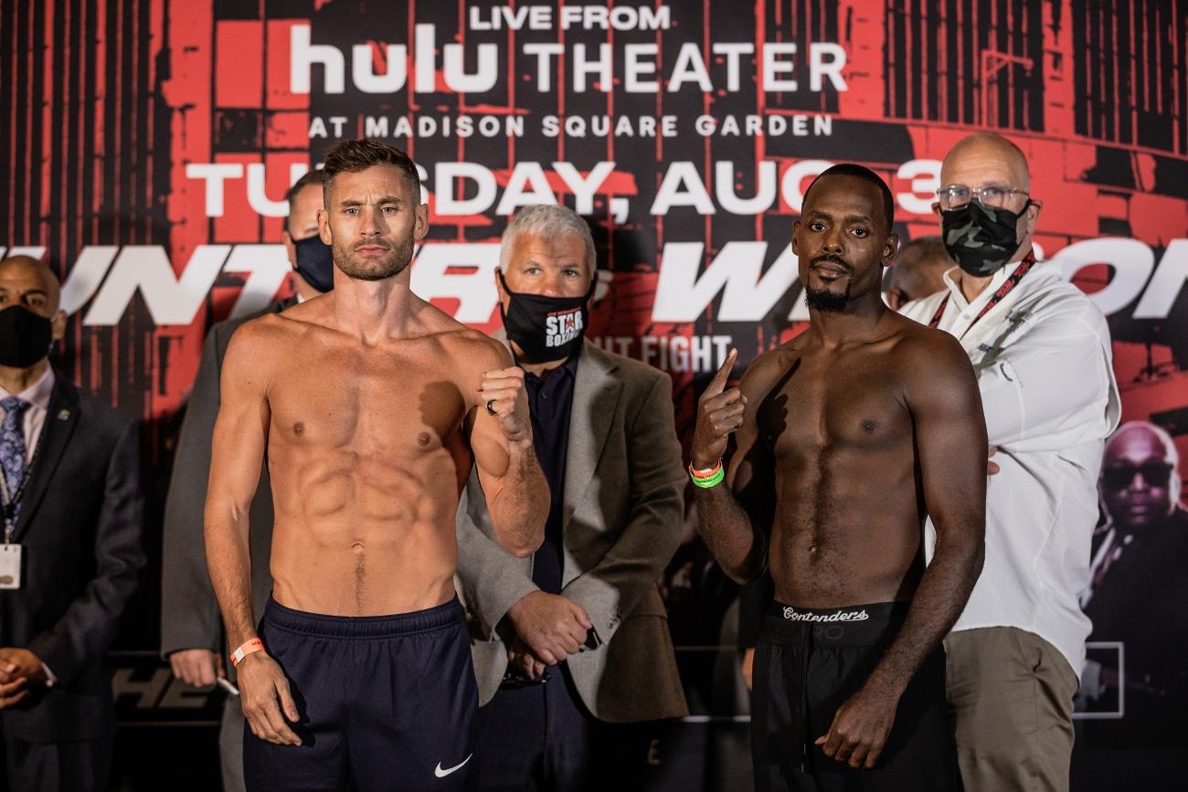 Chris Algieri, Michael Hunter, Mike Wilson, Mikkel Lespierre - Boxing News