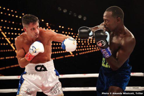 Chris Algieri, Michael Hunter, Mike Wilson, Mikkel Lespierre - Boxing Results