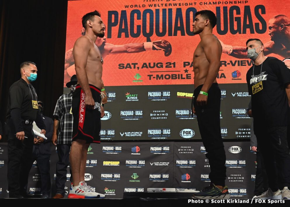 Manny Pacquiao, Yordenis Ugas - Boxing News