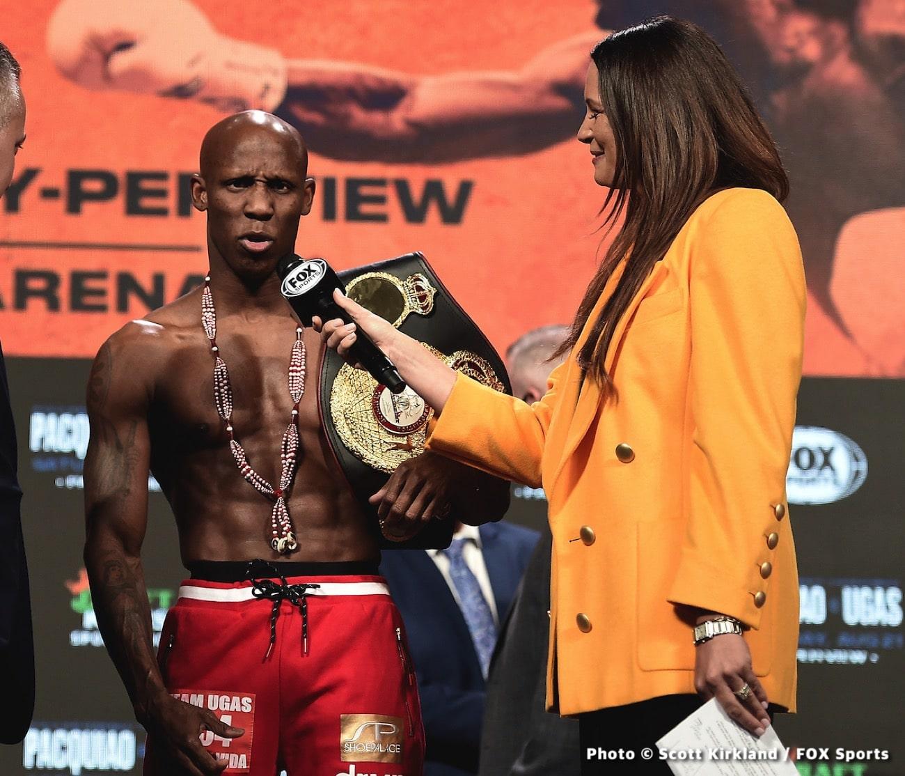 Eimantas Stanionis, Errol Spence Jr., Yordenis Ugas - Boxing News