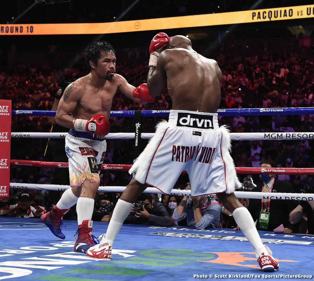 Manny Pacquiao, Shawn Porter, Yordenis Ugas - Boxing News