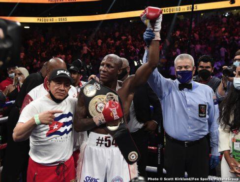 Carlos Castro, Julio Ceja, Manny Pacquiao, Mark Magsayo, Oscar Escandon, Robert Guerrero, Victor Ortiz, Yordenis Ugas - Boxing News