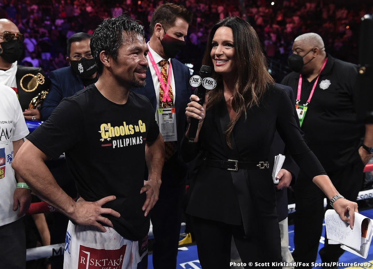 Manny Pacquiao, Sean Gibbons - Boxing News