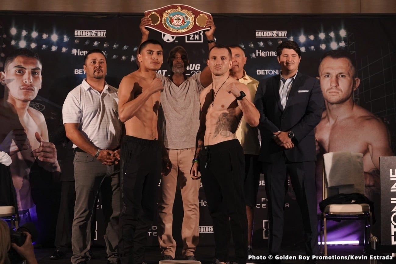 Egidijus Kavaliauskas, Rene Alvarado, Roger Gutierrez, Vergil Ortiz - Boxing News