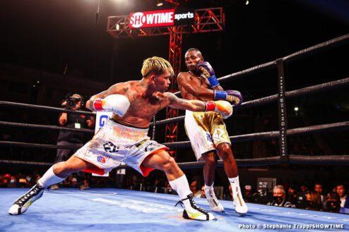 Guillermo Rigondeaux, John Riel Casimero - Boxing Results