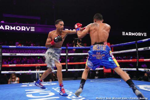 Gabriel Maestre, Mykal Fox - Boxing News