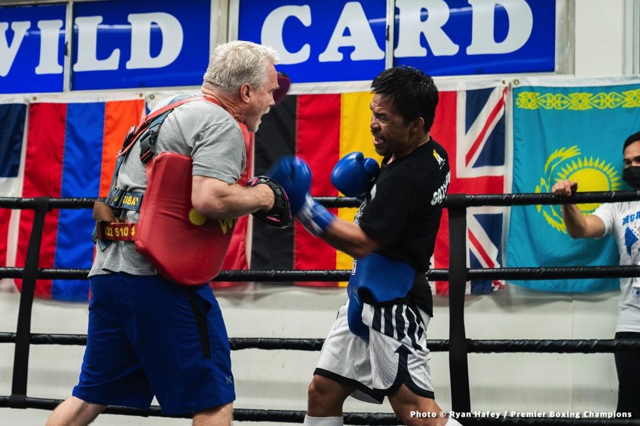 Errol Spence Jr., Manny Pacquiao - Boxing News
