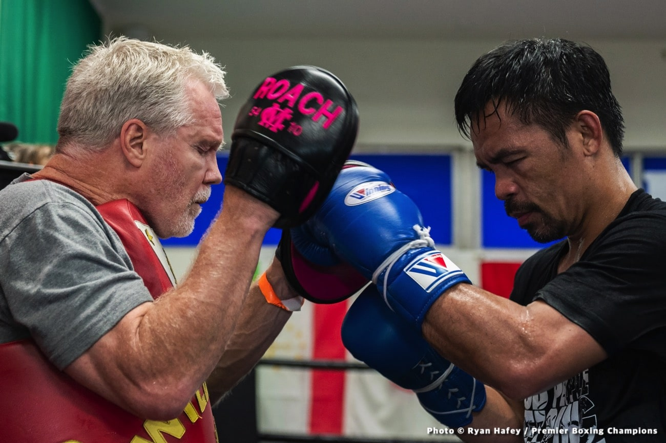Errol Spence, Freddie Roach, Manny Pacquiao - Boxing News