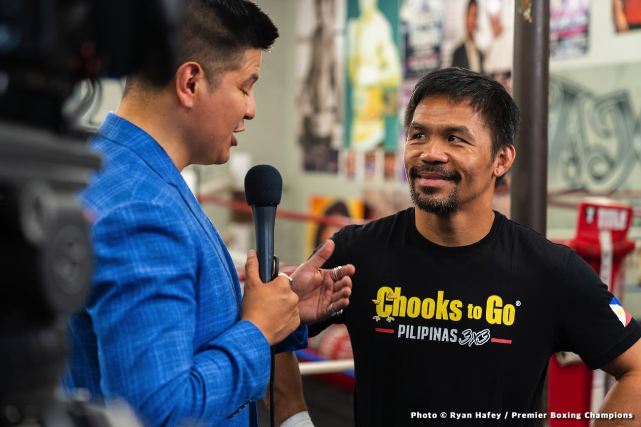 Errol Spence Jr., Manny Pacquiao, Mikey Garcia, Yordenis Ugas - Boxing News