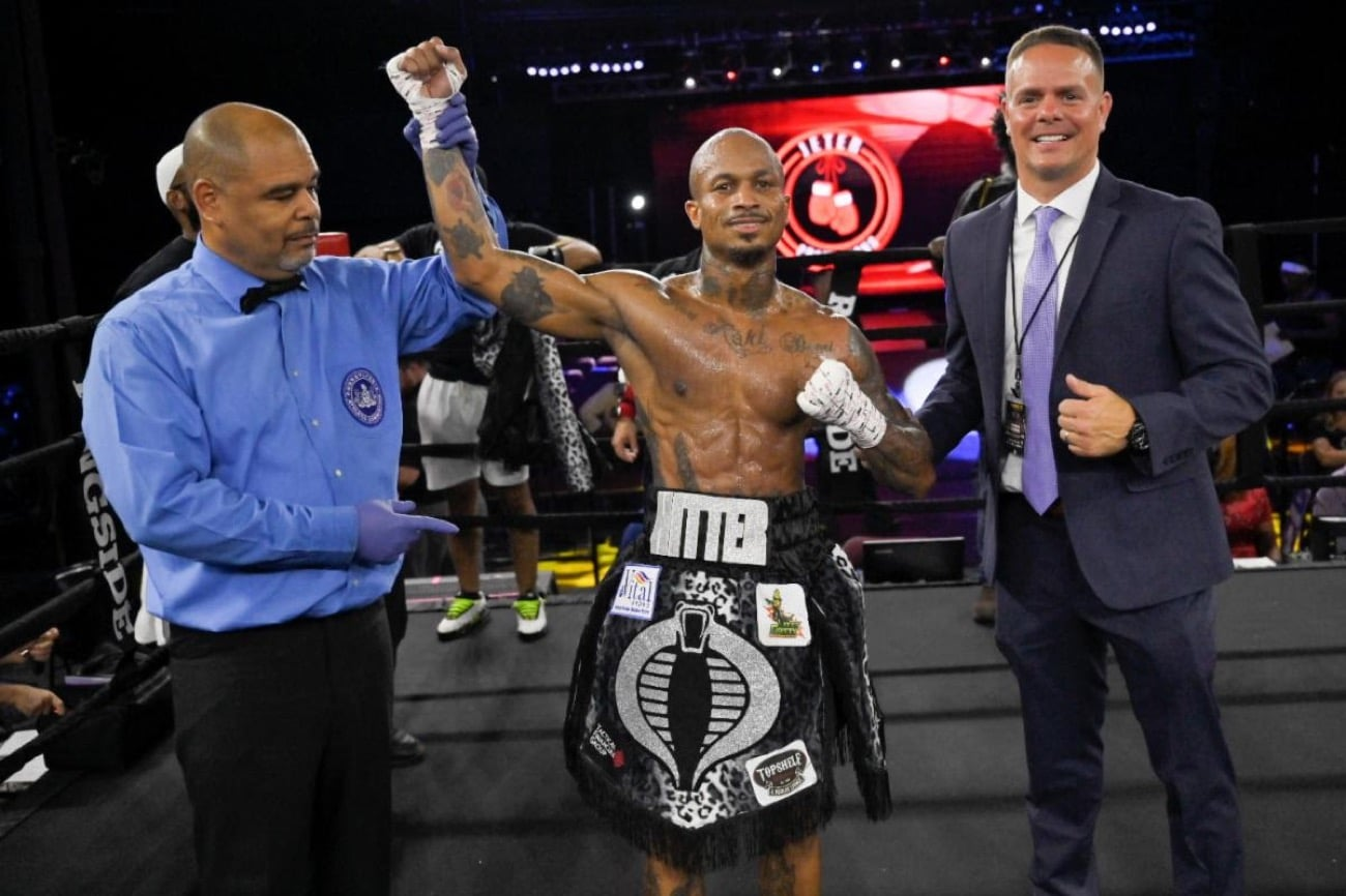 Brandon Chambers, Joahnys Argilagos, Kendrick Ball Jr. - Boxing Results