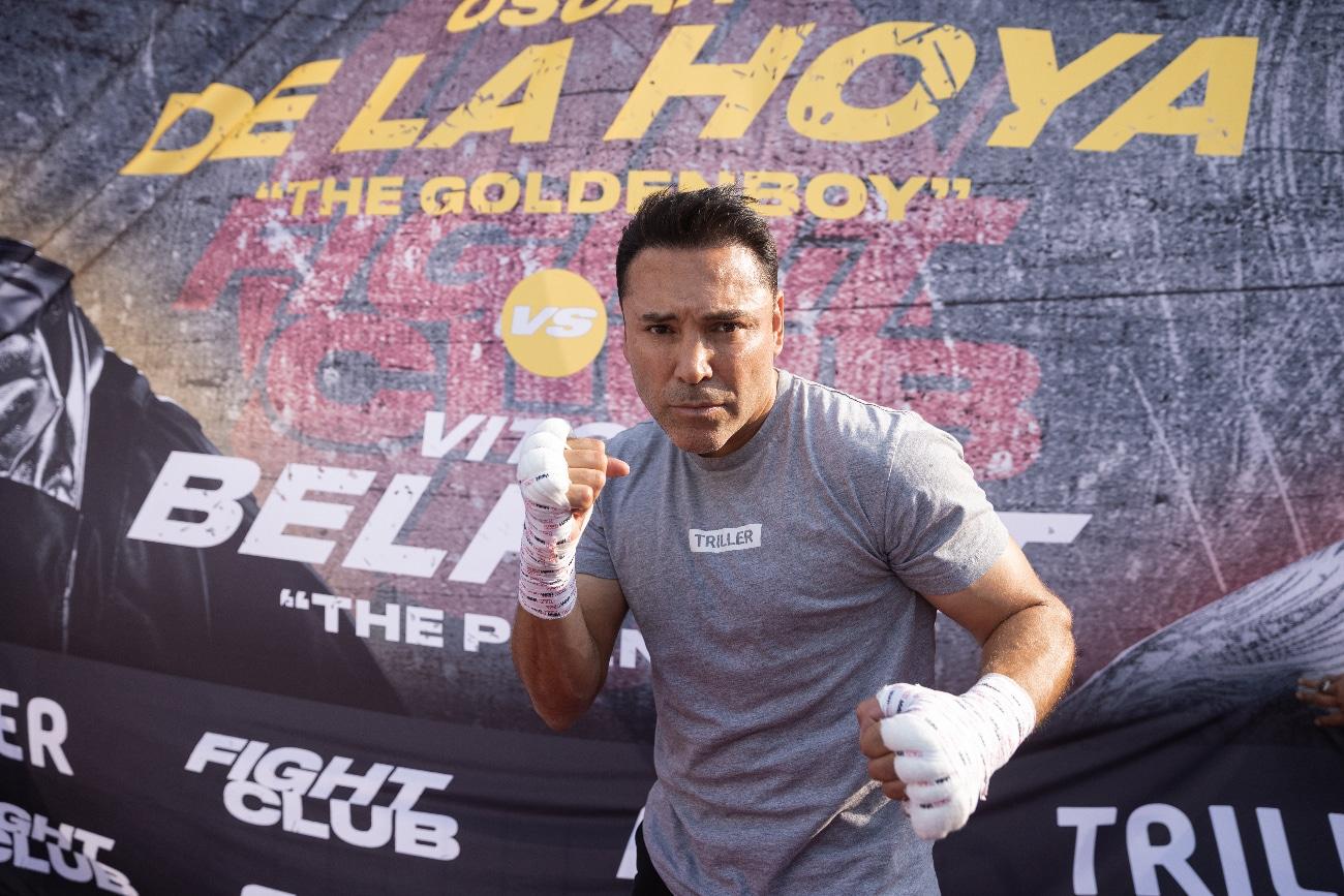 Oscar De La Hoya - Boxing News