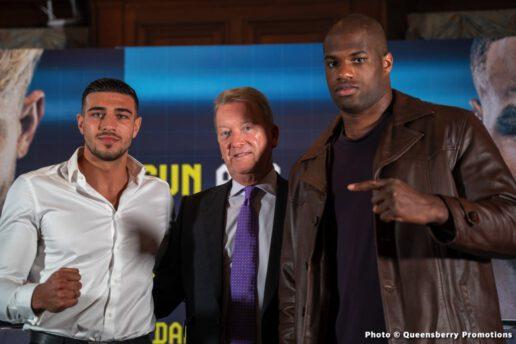 Anthony Taylor, Daniel Dubois, Frank Warren, Joe Cusumano, Tommy Fury - British Boxing