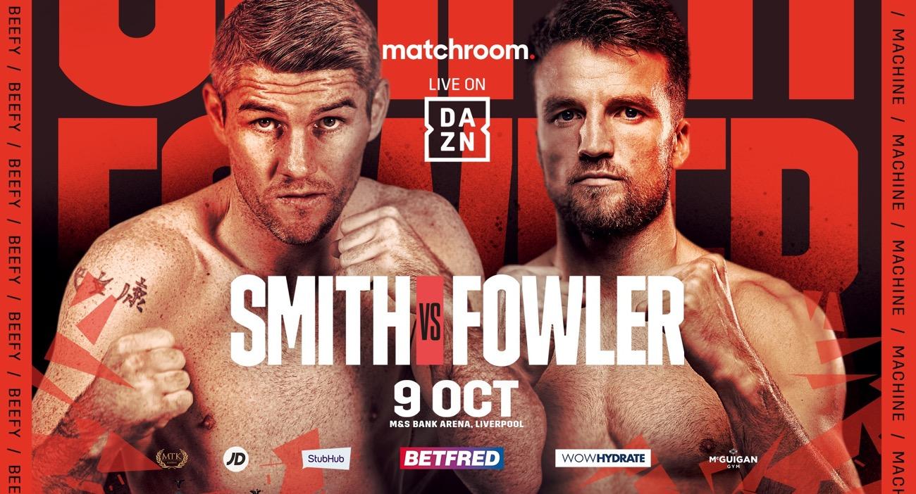 Anthony Fowler, Liam Smith - British Boxing