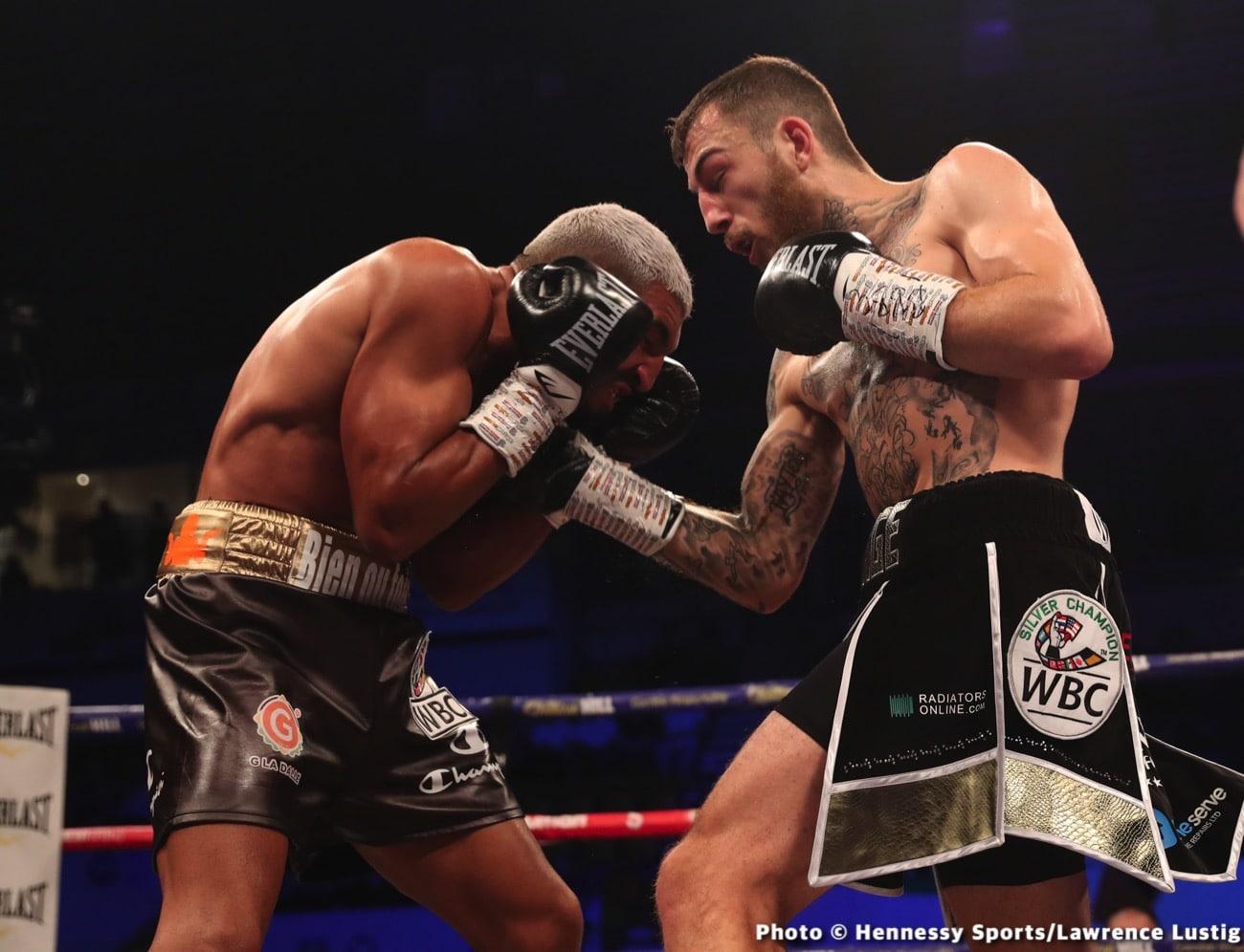 Bilel Jkitou, Sam Eggington - Boxing Results