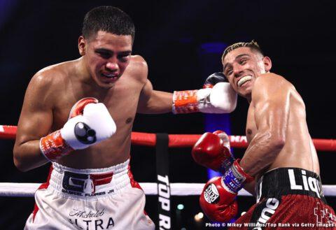 Angel Acosta, Gabriel Flores Jr, Junto Nakatani, Óscar Valdez, Robson Conceição, Xander Zayes - Boxing News